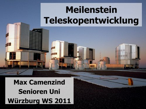 Jahre astronomisches teleskop