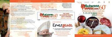 Scarica Brochure Iniziative AUTUNNO PAVESE ... - Eventi e sagre