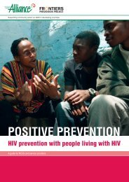 Positive Prevention - HIV prevention with people ... - hivpolicy.org