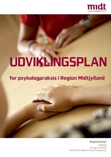 Udviklingsplan for psykologpraksis i RM - DiabetesMidt.dk