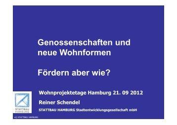 Präsentation Reiner Schendel zur Wohnungsbauförderung in ...