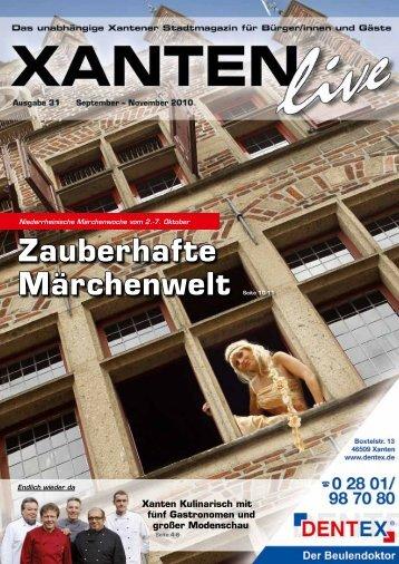 Niederrheinische Märchenwoche Vom 2. - Xanten Live