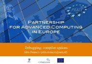 Debugging: compiler options - Prace Training Portal