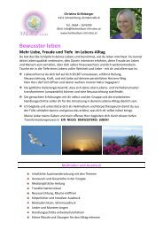 Detail-Infos als PDF - Heilmedium Christine Grillnberger Schwertberg