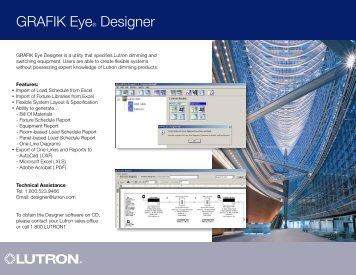 GRAFIK Eye® Designer - Lutron