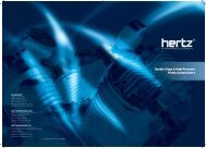 High Pressure Piston Compressors Product brochure - Hertz ...