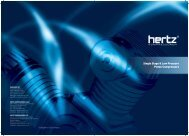 Low Pressure Compressor Product brochure - Hertz-Kompressoren