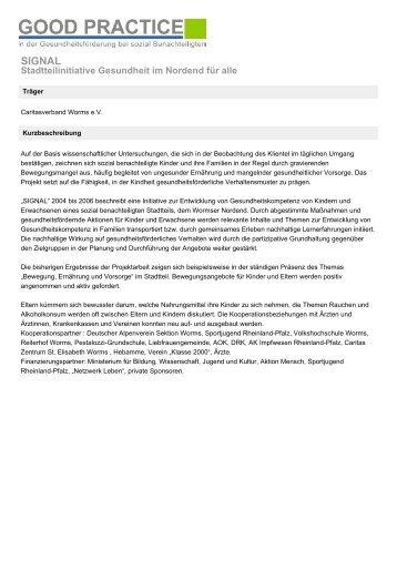 SIGNAL - Landeszentrale für Gesundheitsförderung in Rheinland ...