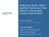 Keynote address - Making The Connection - CTA