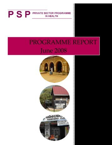 PROGRAMME REPORT June 2008 - (SHOPS) project