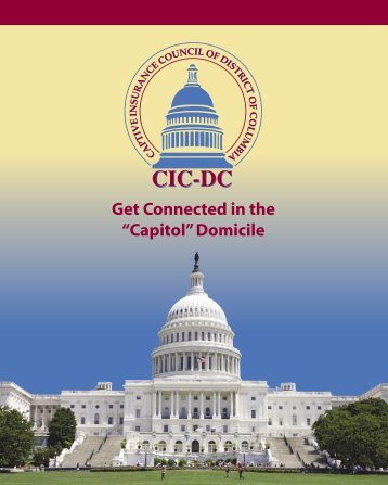 Download CICDCMembershipBrochure.pdf - Captive Insurance ...