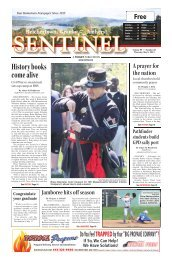 May 9, 2013 PDF Edition - The Sentinel
