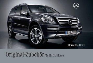 Original-Zubehör für die GL-Klasse. - Mercedes