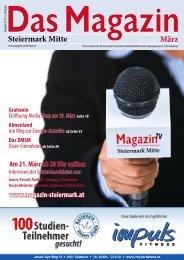Steiermark Mitte März - DAS MAGAZIN Steiermark-Mitte