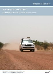 Vehicle Tracking - Ground Control