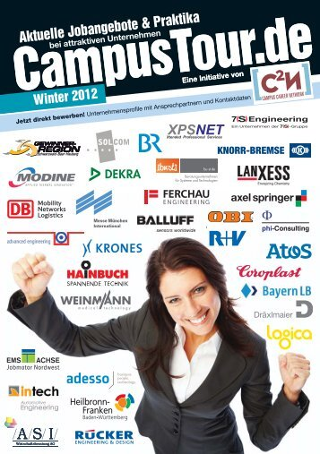 Tourhandbuch Winter 2012 - CampusTour.de