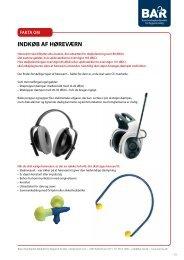 Hent Faktablad om indkøb af høreværn - BAR Bygge & Anlæg