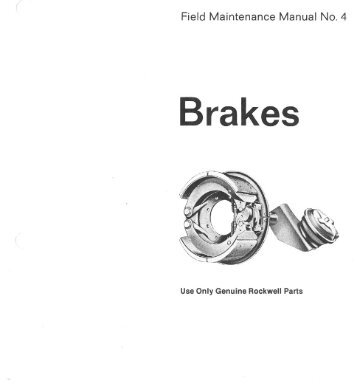 Rockwell Brakes.pdf - Wanderlodge Owners Group