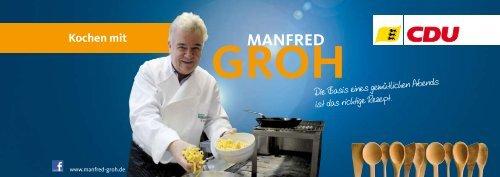 Zutaten - Manfred Groh