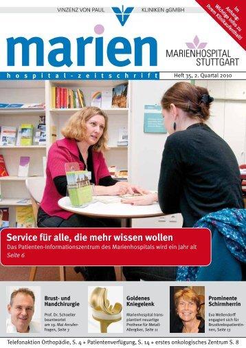 April 2010 - Marienhospital Stuttgart