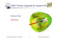 CMS Tracker Upgrade for Super-LHC - Infn