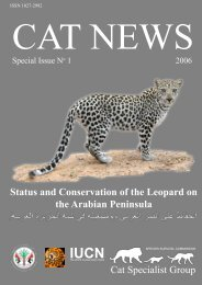Status and Conservation of the Leopard on the ... - Nwrc.gov.sa