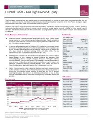 the fund factsheet - Fundsupermart.com