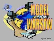 Protokoły model warstw TCP/IP