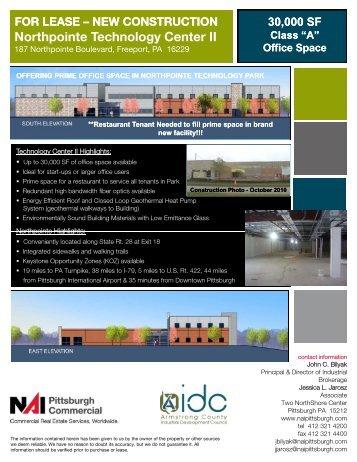 Northpointe Technology Center II - Gisplanning.net