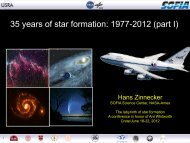 35 years of star formation - Cardiff School of Physics and Astronomy