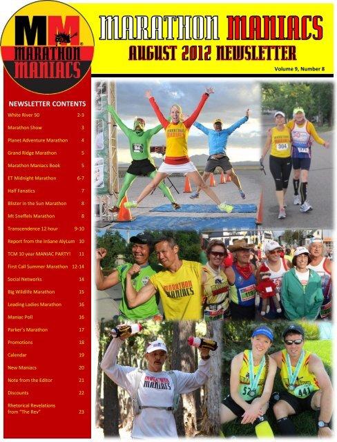 transcendence 12 hour - Marathon Maniacs