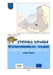 Stopiņu novada Attīstības programmas 2012.-2018. - Rīgas ...