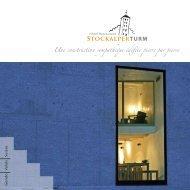 Une construction sympathique édifiée pierre par ... - Stockalperturm