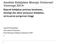 Analisis Kebijakan Menuju Universal Coverage 2014,Laksono.pdf