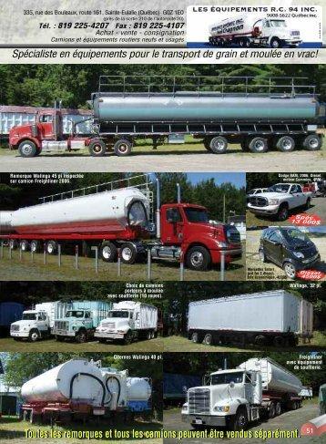 Toutes les remorques et tous les camions peuvent ... - Affaires Extra