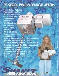 PB Mixer Brochure - Sharpe Mixers