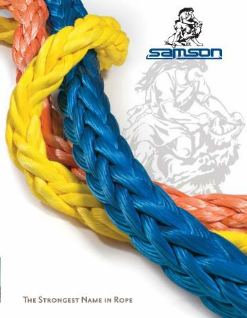 20 free magazines from wescovan com for Heavy rope for nautical use