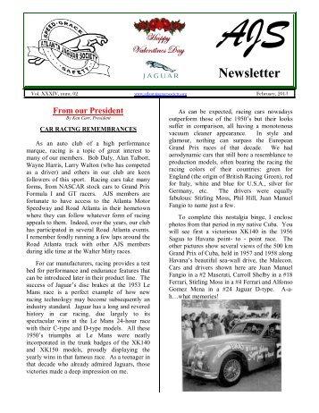 AJS Newsletter - The Car Nut