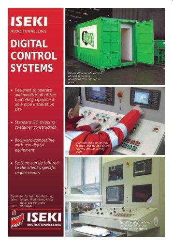 Digital Control Systems Datasheet (pdf file) - Iseki Microtunnelling