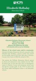 Elizabeth Holladay - Henrico County Public Schools