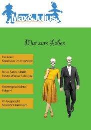 Fantasy im Schatten von Festung und Fakultät - Max & Julius