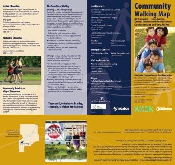 Community Walking Map - City of Edmonton