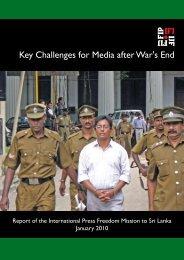 Key Challenges for Media after War's End - International Federation ...