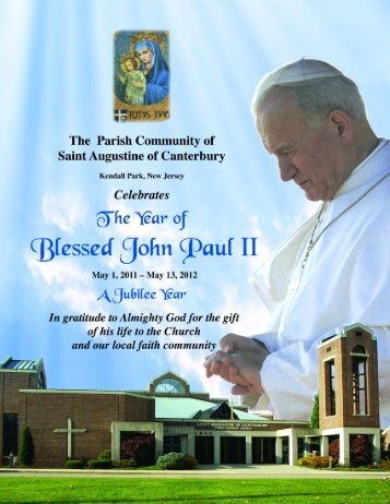Year of Blessed John Paul II - St. Augustine's Church
