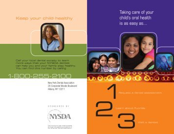 Your Child's Oral Health - New York State Dental Association