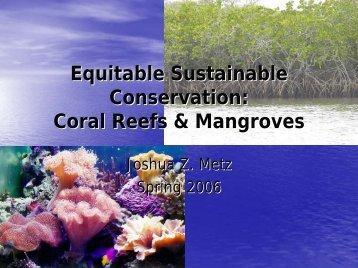 Coral Reefs & Mangroves - pub.naz.edu:9000