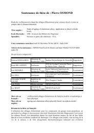 Resume these_Pierre Osmond - MINES ParisTech