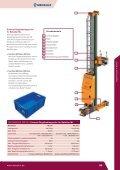 Regalbediengeräte Behälter GER - Mecalux - Seite 5