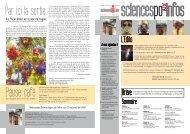 Brève L'Edito - Intranet - Sciences Po Aix