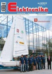 Elektronika 2012-06 I.pdf - Instytut Systemów Elektronicznych ...